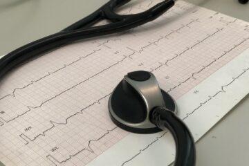 Fond électrocardiogramme
